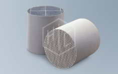 Ceramic catalysts carriers