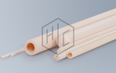 Thermocouple protection tubes and cases, rods