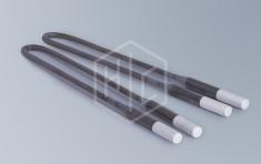 Disilicide-molybdenum heaters